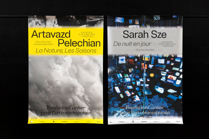 Sarah Sze, De nuit en jour / Artavazd Pelechian, La Nature, Les Saisons exhibition 2