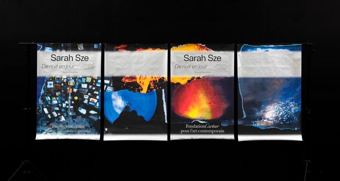 Sarah Sze, De nuit en jour / Artavazd Pelechian, La Nature, Les Saisons exhibition 4