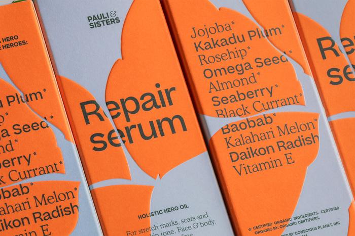 Pauli & Sisters repair serum 1