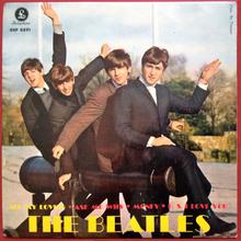 "The Beatles – ""All My Loving"" Swedish EP"