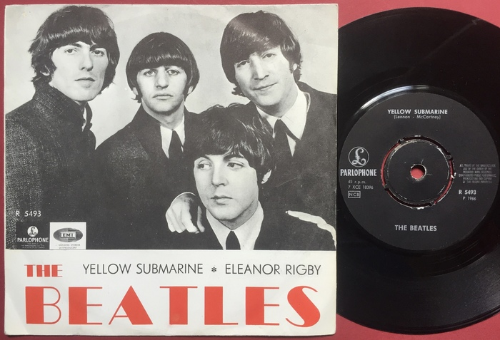 "The Beatles – ""All My Loving"" Swedish EP 2"