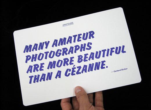Amateurs Exhibition, CCA Wattis 9