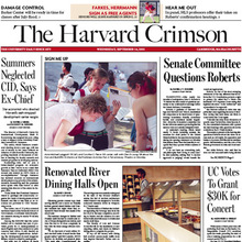 <cite>The Harvard Crimson</cite> (2005)