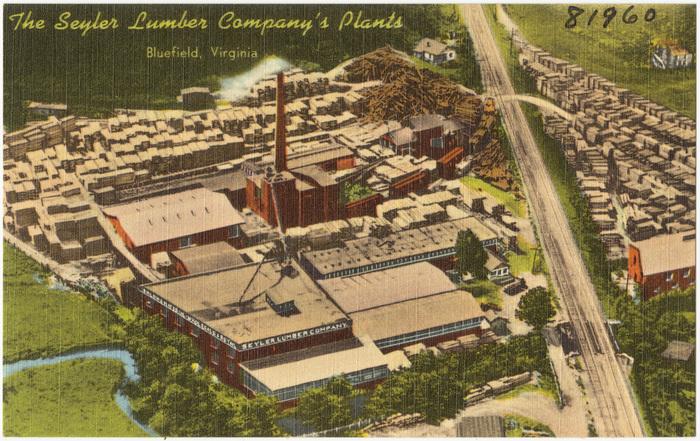 The Seyler Lumber Company's Plants, Bluefield, Virginia