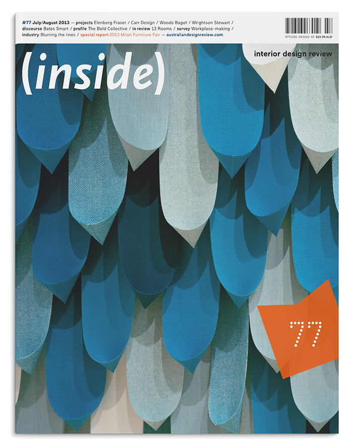 Cover of Inside, Issue #77.