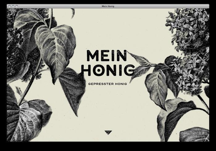 Mein Honig honey farm website 2
