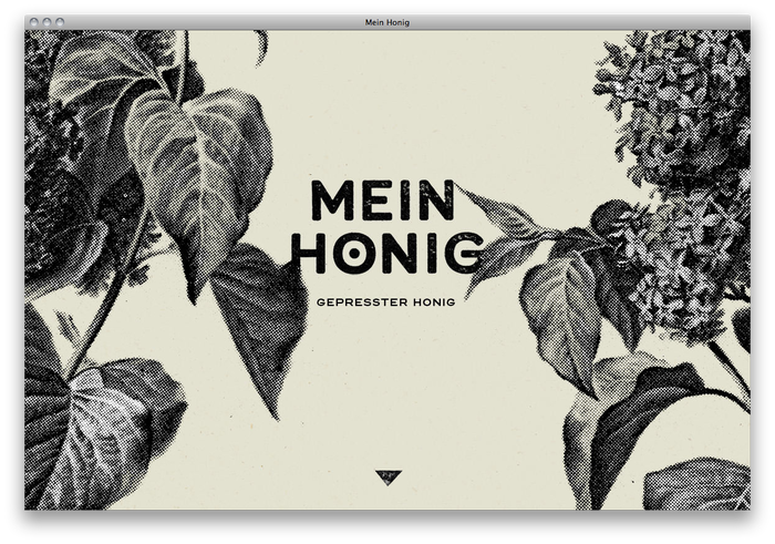 Mein Honig honey farm website 2