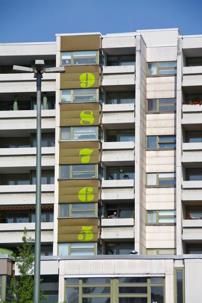 Floor numbers 1