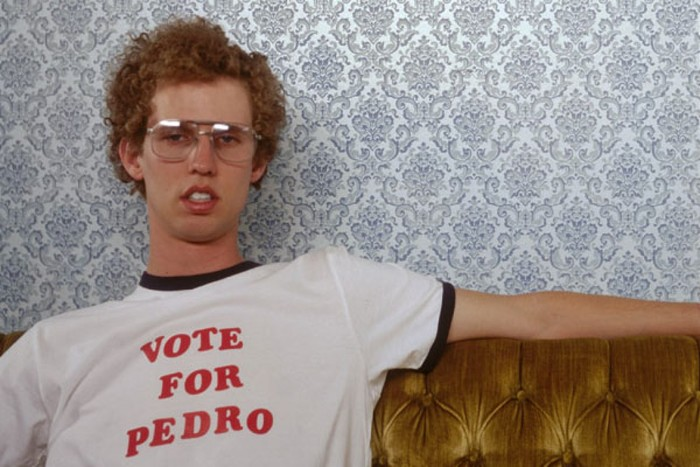 """Vote for Pedro"" Shirt from Napoleon Dynamite"