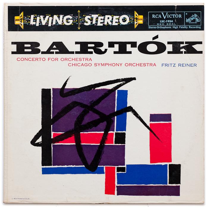 Bartók. Concerto For Orchestra – Chicago Symphony Orchestra, Fritz Reiner