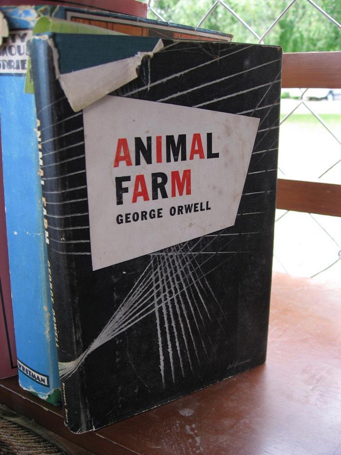 Animal Farm by George Orwell (1st US Edition) 1