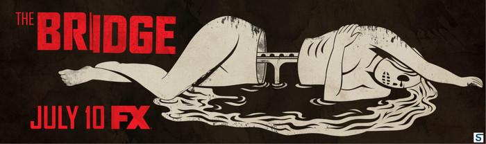 The Bridge (FX series) logo and main title 3