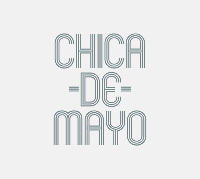 Chica De Mayo Event Identity 3