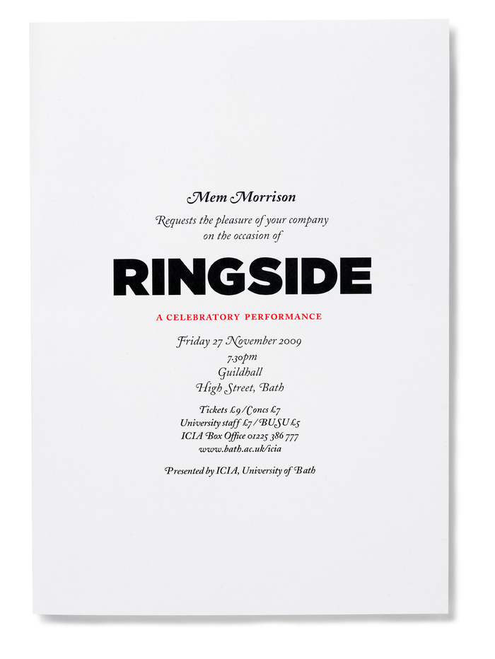Ringside 3