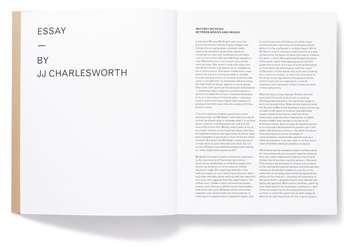 Whitney McVeigh: New Work 3