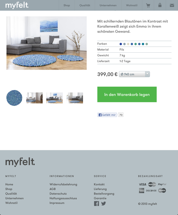 myfelt Website 3
