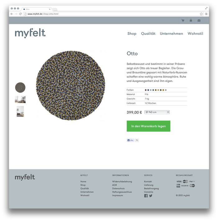 myfelt Website 8