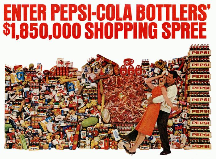 """Shopping Spree"" Pepsi ad (1964)"