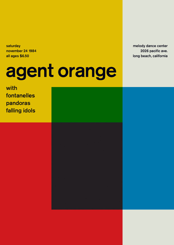 Agent Orange at the Melody Dance Center, 1984