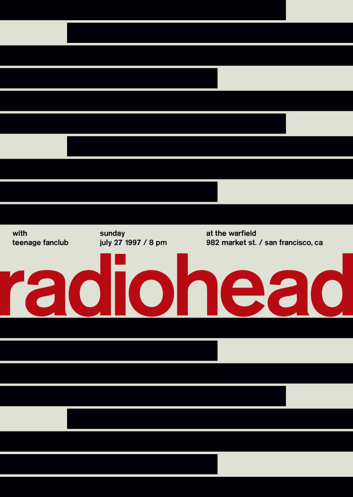 Radiohead at the Warfield, 1997