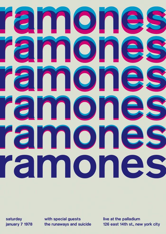 Ramones at the Palladium, 1978