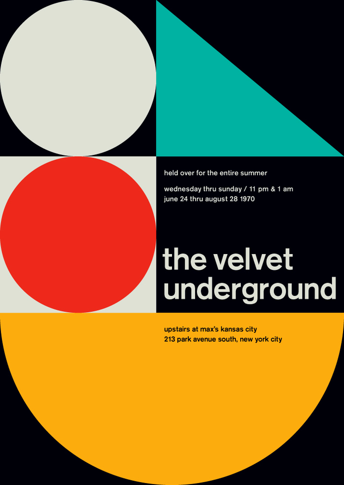 The Velver Underground at the Max's Kansas City, 1970