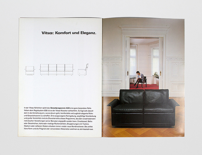 1988 Vitsœ Catalog 1