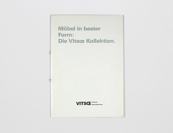 1988 Vitsœ Catalog 3