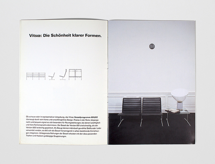 1988 Vitsœ Catalog 6
