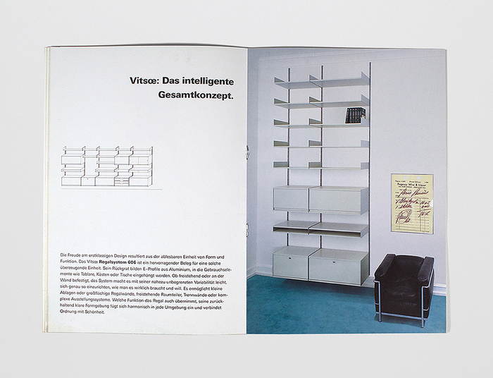 1988 Vitsœ Catalog 8