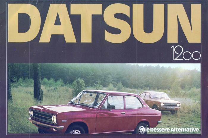 Datsun Germany Brochures: 280Z & 1200 1