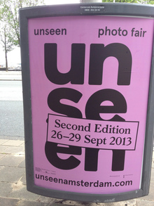 <cite>unseen photo fair</cite> poster