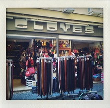 Gloves store front