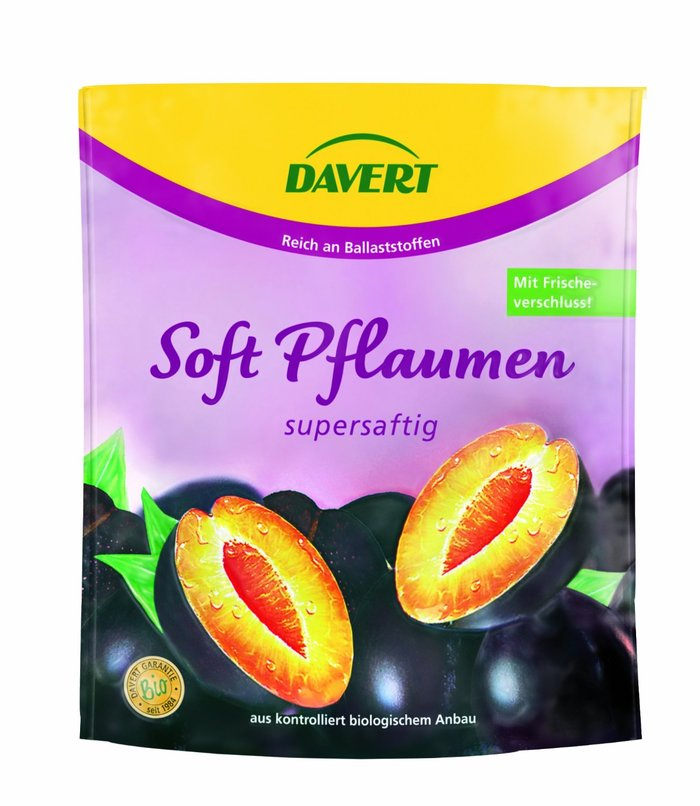 Davert dried fruit packaging 2