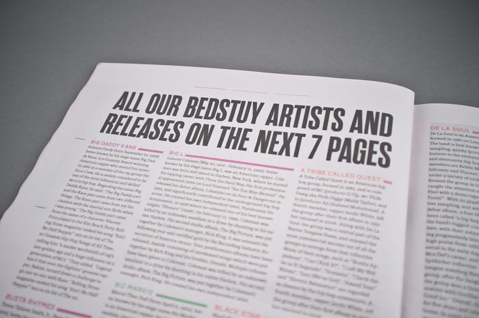 Bedstuy Records – Promotional Magazine 6