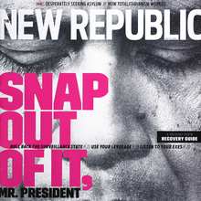 <cite>The New Republic</cite> Magazine, July 2013