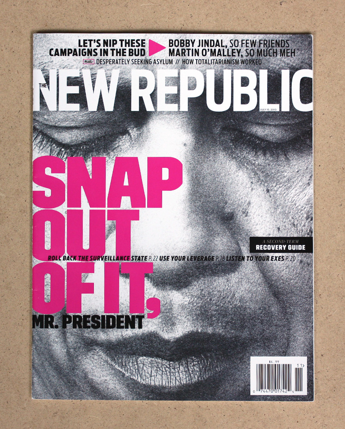 The New Republic Magazine, July 2013 2