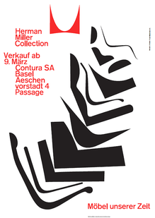 Herman Miller Collection Poster (1962)