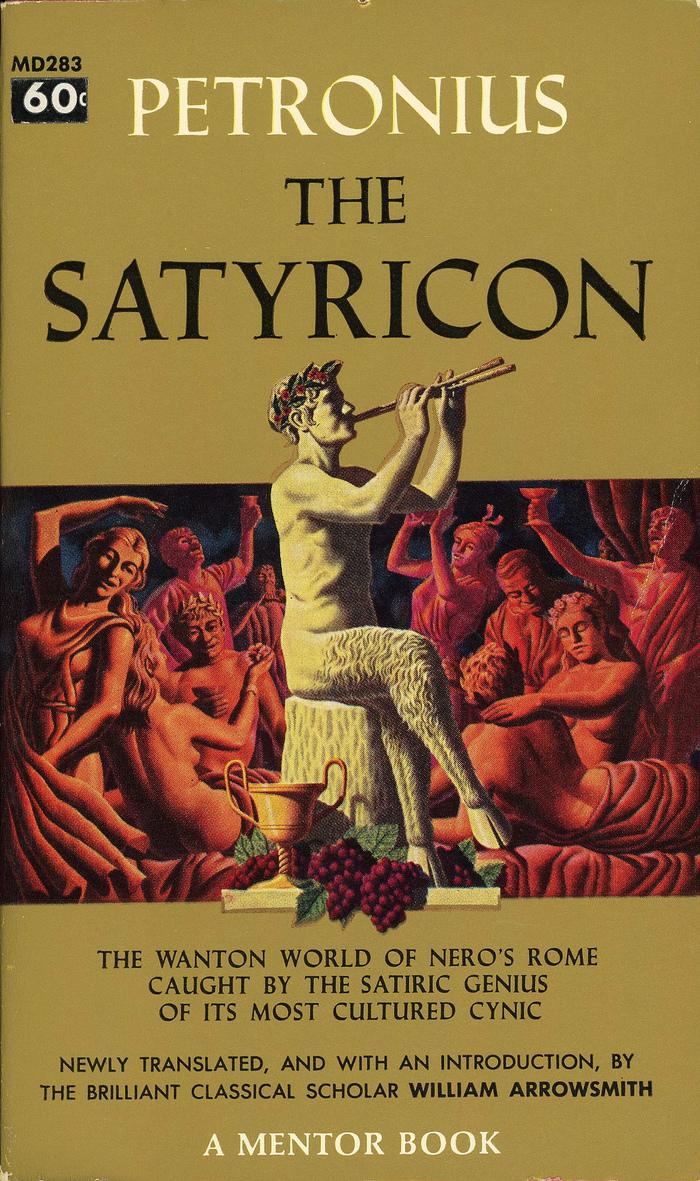Petronius: The Satyricon (Mentor Books MD 283)