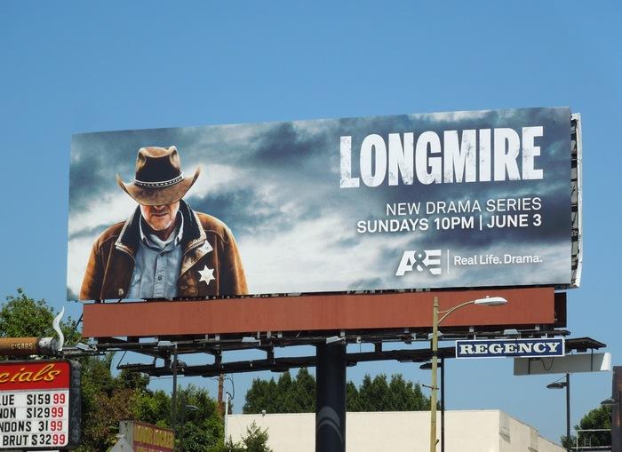Longmire television series branding 2