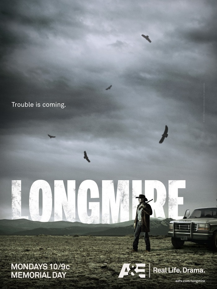 Longmire television series branding 3