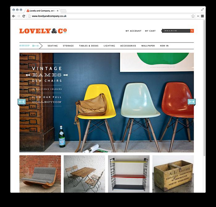 Lovely & Company Website 3
