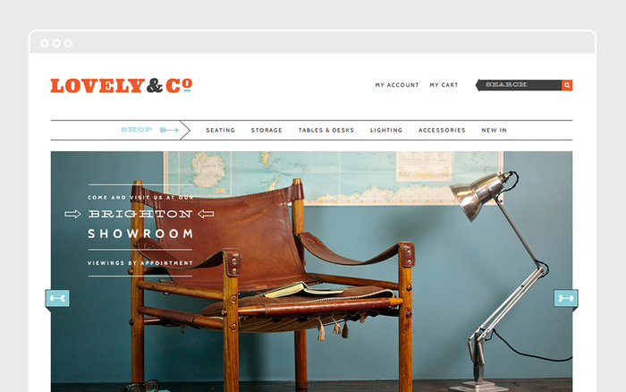 Lovely & Company Website 10