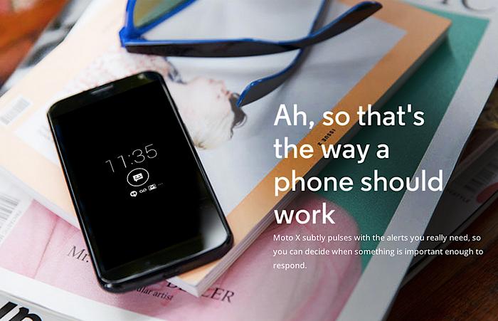 Motorola Moto X Ad Campaign 1