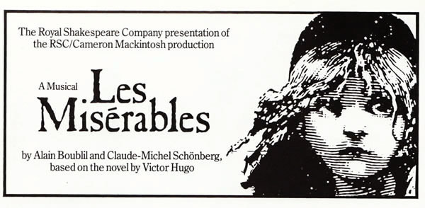 Les Misérables (Musical and Film) Logo - Fonts In Use
