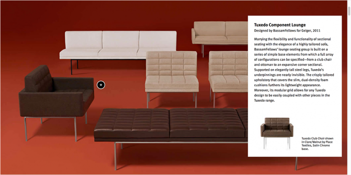 Herman Miller Website 2