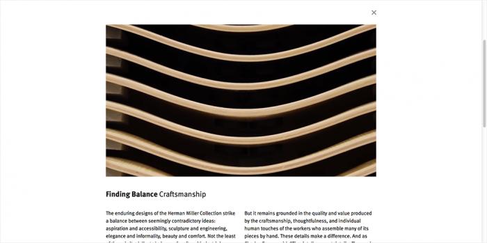 Herman Miller Website 3