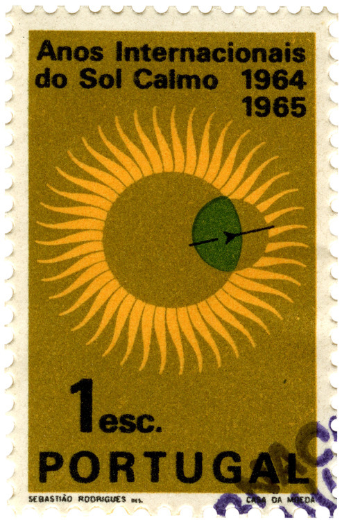 International Quiet Sun Year Stamps 1