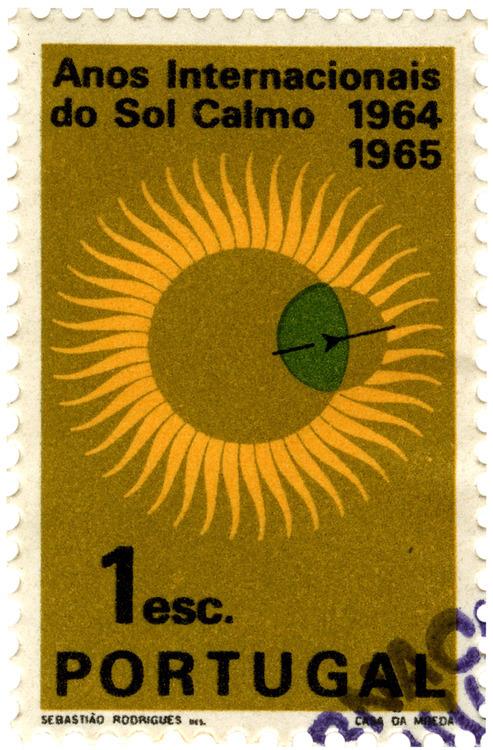 International Quiet Sun Year Stamps 1