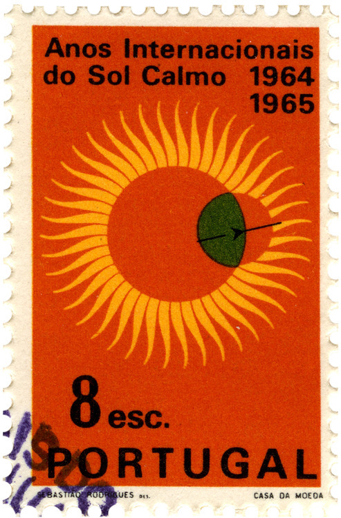 International Quiet Sun Year Stamps 2